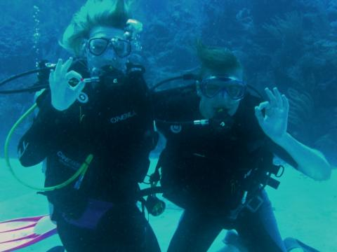 Newest Open Water Divers