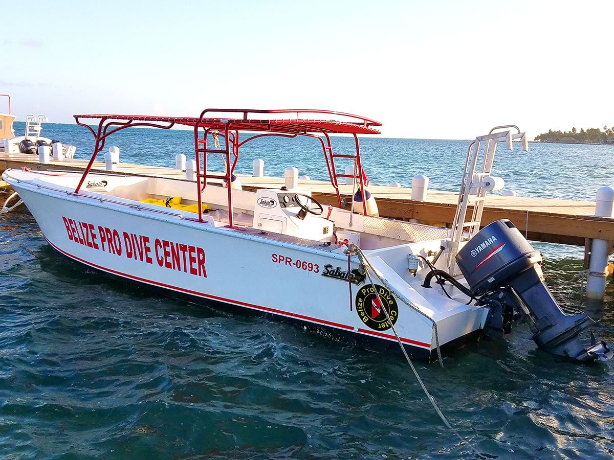 Belize Pro Dive Center Dive Charter Boat