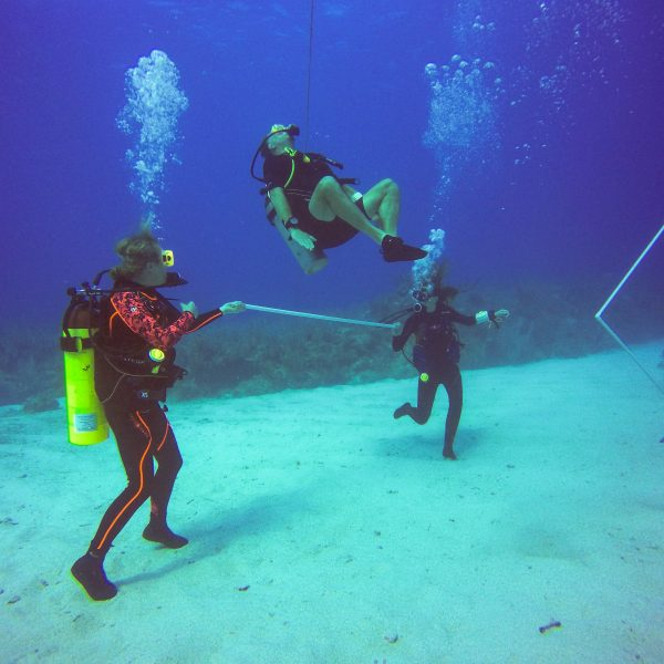 Scuba Diving Fun Underwater