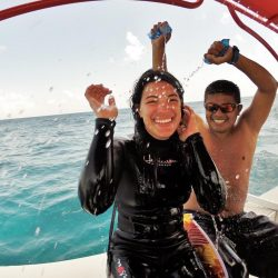 Having Fun After Dive – Belize Pro Dive Center